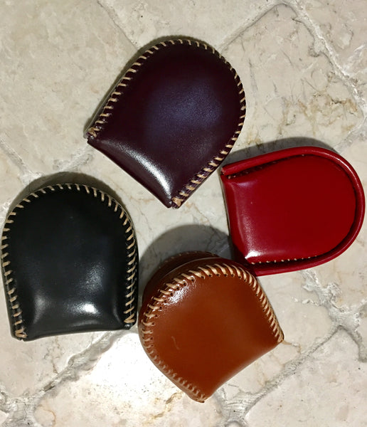 Grandpa's Leather Coin Purse