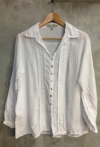 9230 Roxy Ruched Shirt