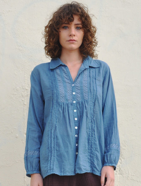 7110 Lucilla Lace Shirt