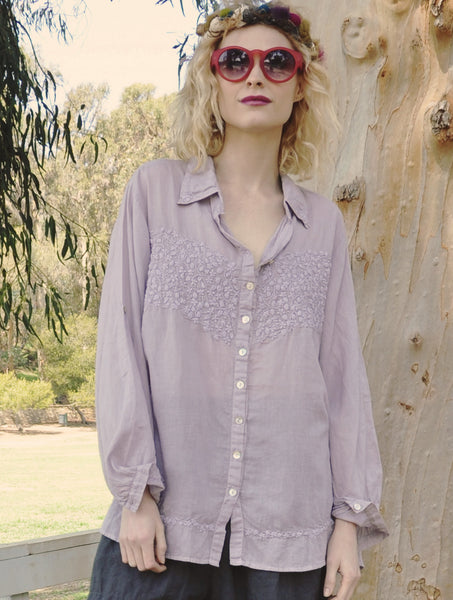 8210 Eloise Hand Embroidered Shirt