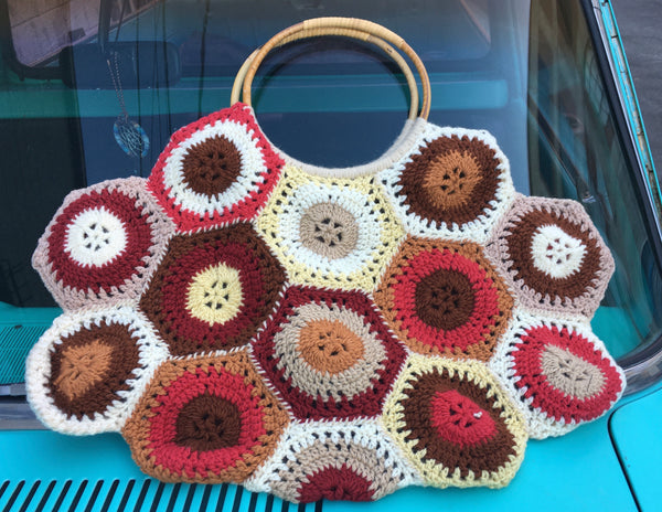 Jacqueline - C - Hand Crocheted Bag