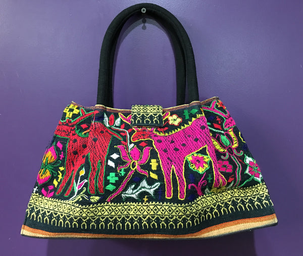 Leah Bag with Land Creatures