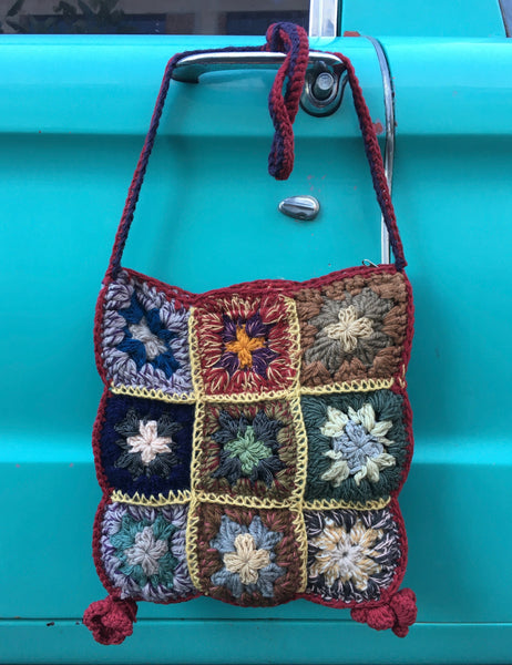 Javiera - D - Hand Crocheted Book Bag