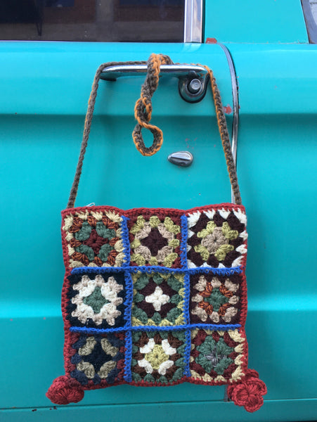 Javiera - C - Hand Crocheted Book Bag