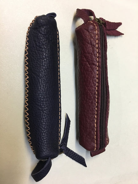 Leather Make Up Purse