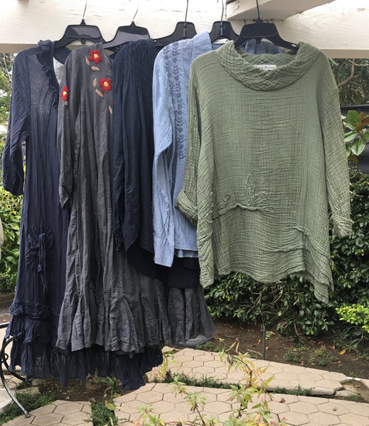 Exclusive Offer on 3 Hand Picked Tops and 2 Dress Samples for Fall