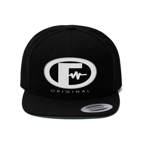 Fusion Original Unisex Flat Bill Hat