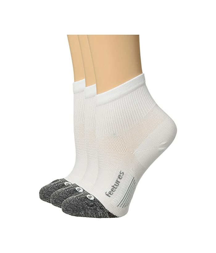Merino Ultra Light No Show Socks-White