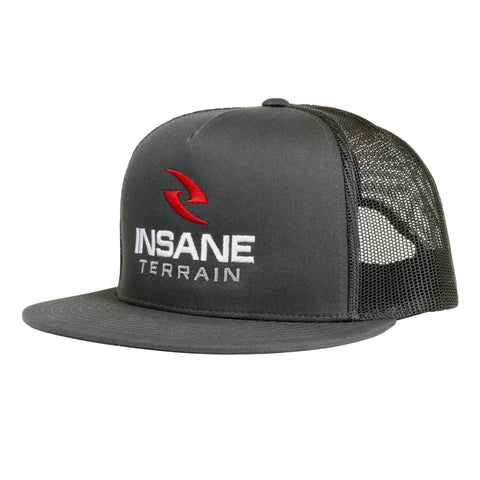 Insane Terrain Flat-Bill Three Color SnapBack Hat