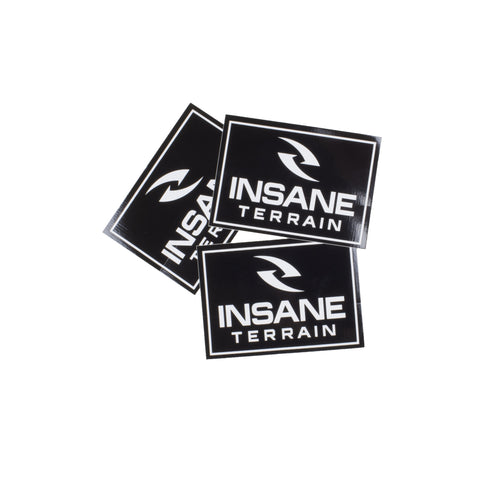 Insane Terrain Logo Square Sticker