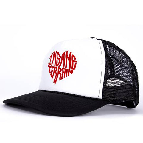 Insane Terrain Heart Trucker Hat