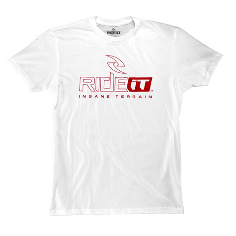 Men's Ride It Logo Tee