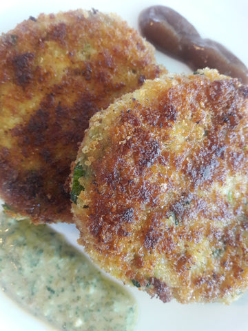 Chicken and Cheese Cutlets