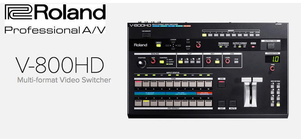 Roland V800HD Multi Media Switcher