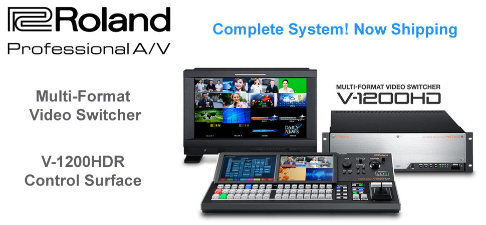 Roland V1200HD Multi Media Switcher Colossovision