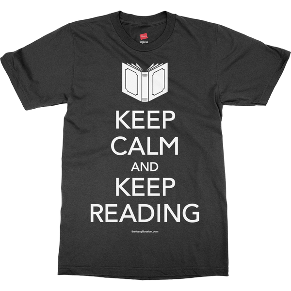 Keep Calm and Keep Reading - Men's T-Shirt