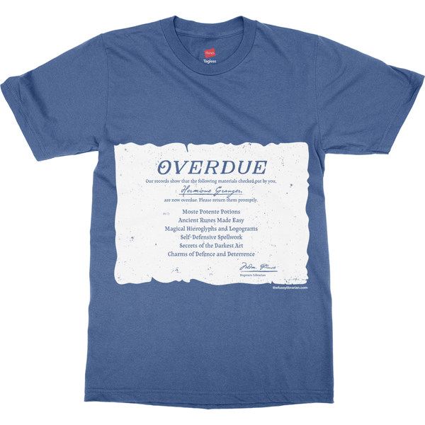 Hermione's Overdue Books - Men's T-Shirt