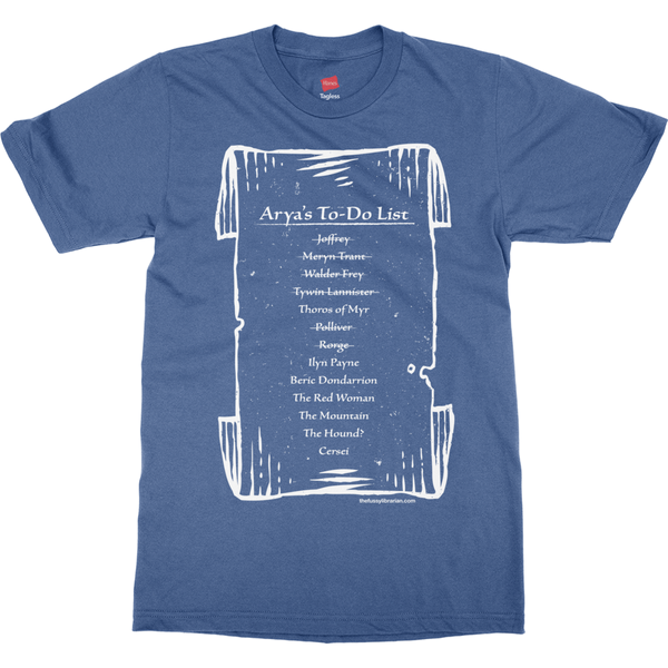 Arya's To-Do List - Men's T-Shirt