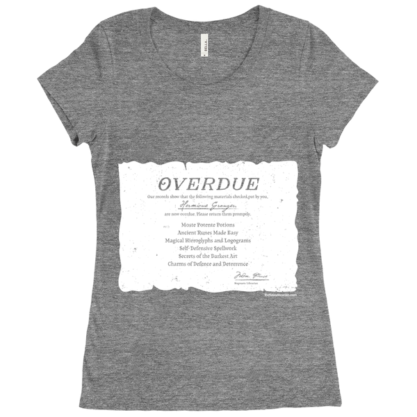 Hermione's Overdue Books - Women's T-Shirt