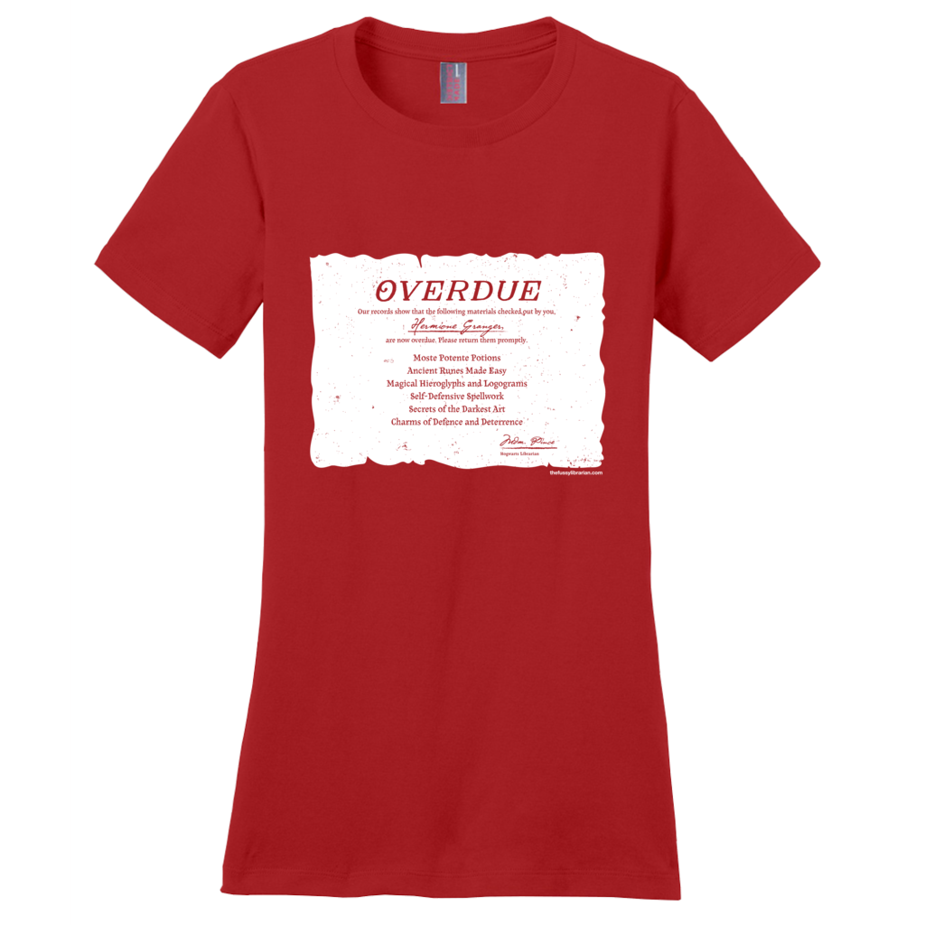 Hermione's Overdue Books - Women's T-Shirt (extended size)