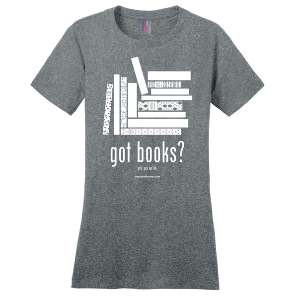Got Books? - Women's T-Shirt (extended size)