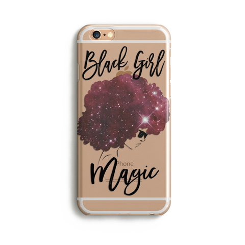 Black Girls Are Magic iPhone Case