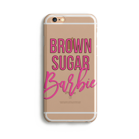 Brown Sugar Barbie iPhone Case