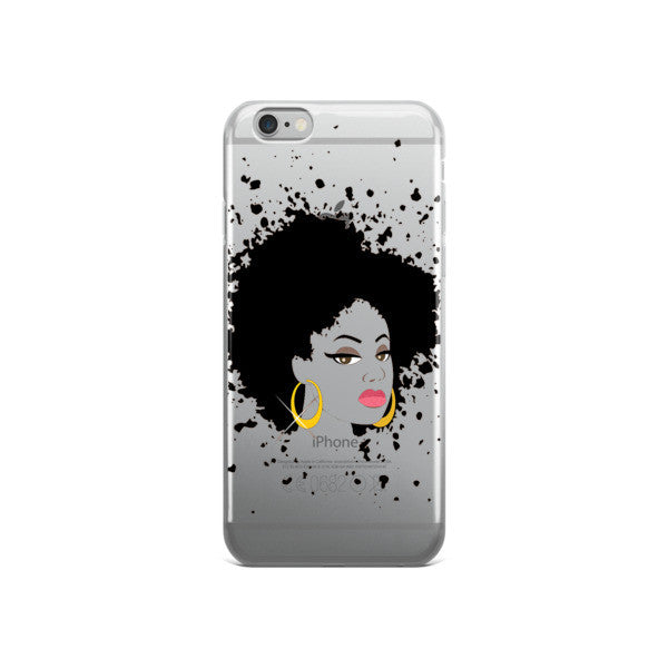 Hoop Earrings & Fro iPhone Case