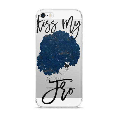 Kiss My Fro iPhone Case