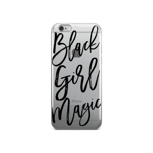 Black Girl Magic iPhone case