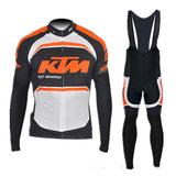 A7 Winter thermal fleece cycling Set jersey KTM