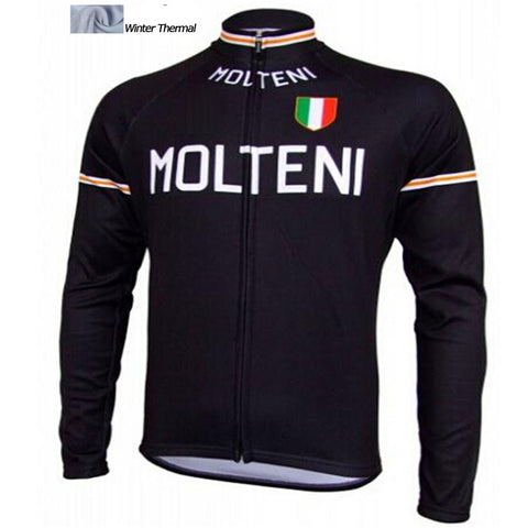 2016 A8 winter cycling clothing fleece thermal pro cycling jersey