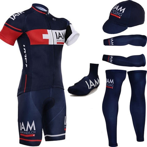 Dark Blue cycling jersey full set