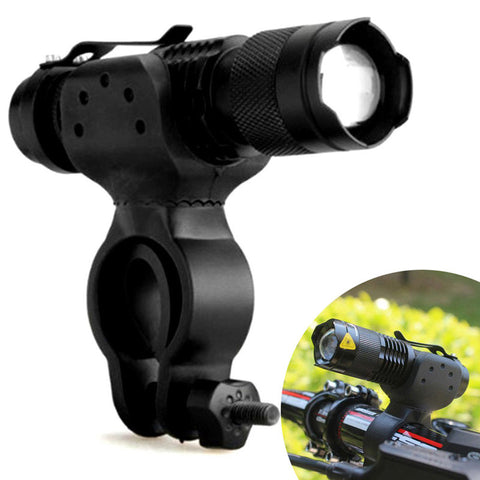 1200lm Cree Q5 LED Cycling Bike Accessories Bicycle Head Front Flashlight  360 Mount luz bicicleta BHU2