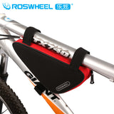 New Arrival 8 Colors Roswheel Mountain Bike Bicycle Bag Front Frame PVC Top Tube Triangle Bag Storage Pouch Bicycle Accessory