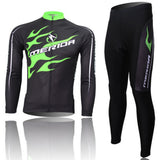 A5 Merida Team Winter fleece Thermal mens Cycling bicycle Jersey/Pants