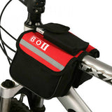 Mountain bike saddle bag saddle bag pipe bag