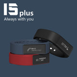 Excelvan I5 Plus Smart Bracelet Bluetooth 4.0 Waterproof Touch Screen Fitness Tracker Health Wristband Sleep Monitor Smart Watch