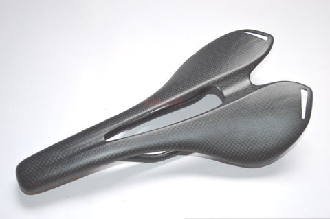 New design  full carbon fiber road bicycle saddle road mountain mtb cycling bike seat saddle cushion bike parts 95g