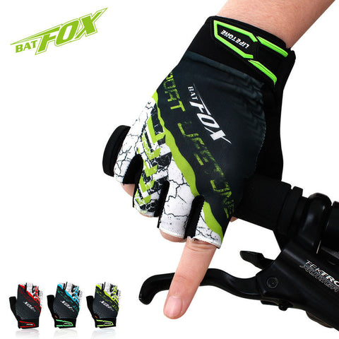 BATFOX 2016 Unisex Summer Cycling Gloves