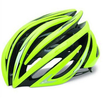 Mountain - Road bike Gloss Green helmet cycling capacete ciclismo helmets mtb carbon casco bicicleta 16 colors to choose