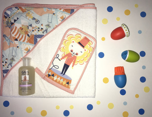 Bath Time Gift Box - Circus