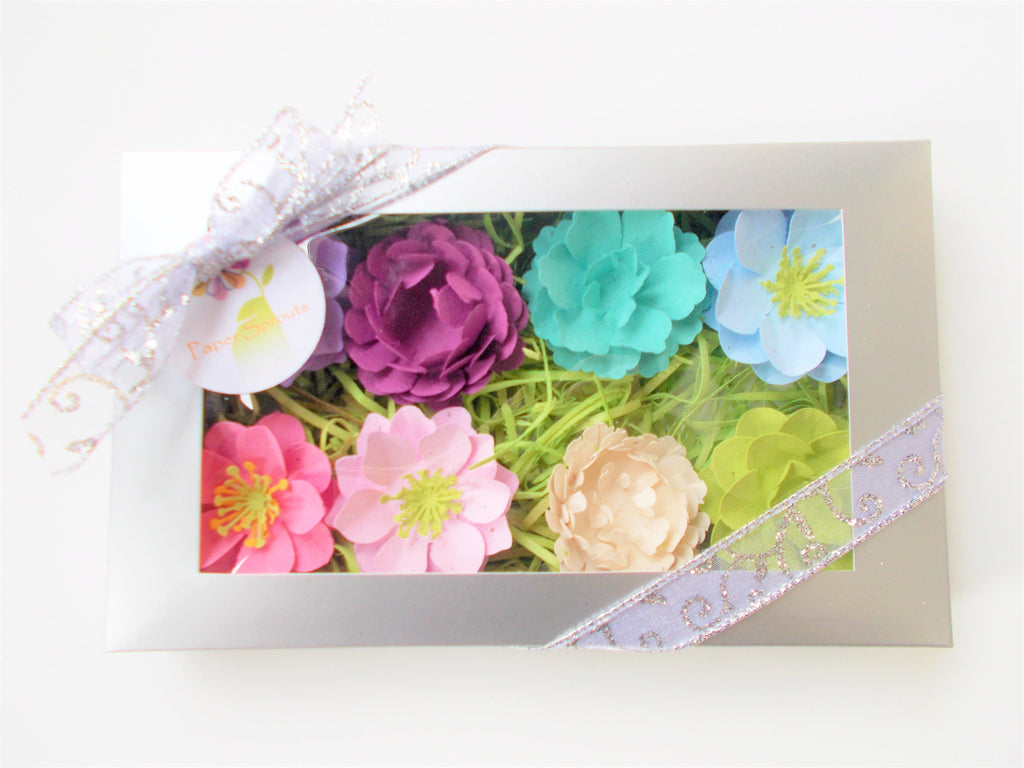 Wildflower Seeded Flower Gift Set - Cool Colors