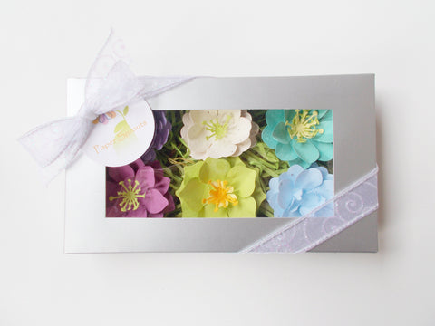 Plantable Seed Paper Flower Set of 6