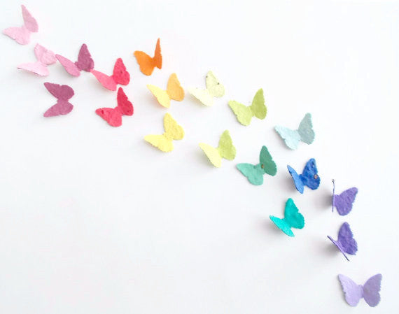 Eco Friendly Seeded Paper Butterfly Confetti