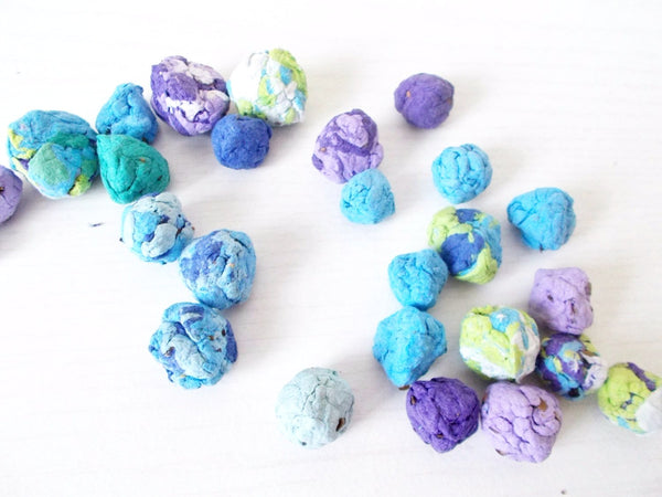Wildflower Seed Bombs - Purples and Blues Mix