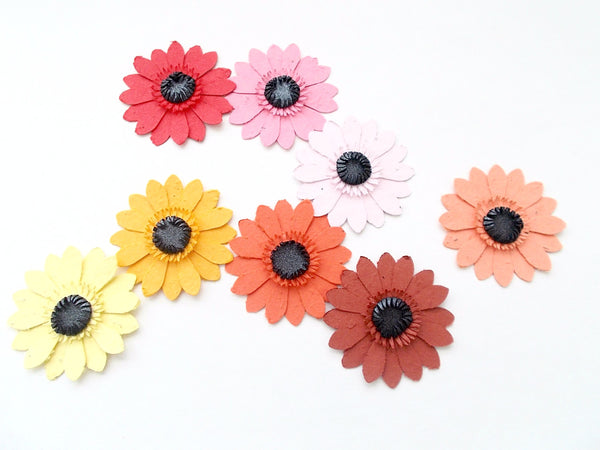 Plantable Paper Gerbera Daisies - Seed Embedded Flowers - Plant and Grow!