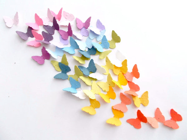 Plantable Seed Paper Butterfly Confetti