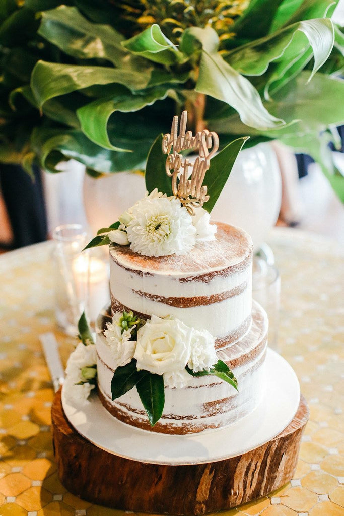Semi Naked Cake All Things Sweet By Carissa