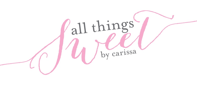 All Things Sweet by Carissa